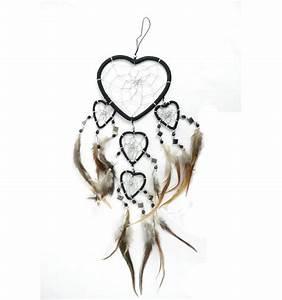 Attrape Reve Maison Du Monde : attrape r ves noir original forme coeur achat pas cher ~ Dailycaller-alerts.com Idées de Décoration
