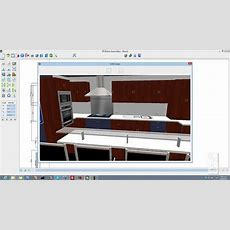 3d Kitchen Design Software (3dkitchen)  Youtube