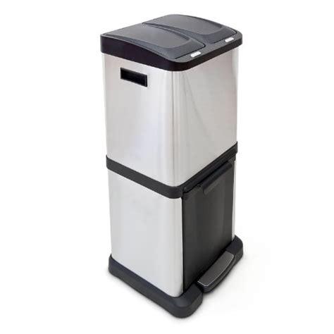 poubelle de cuisine tri selectif poubelle tri selectif 2 bacs pas cher