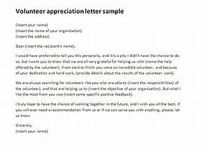 how to write a cover letter for volunteering - volunteer appreciation letter sample rich