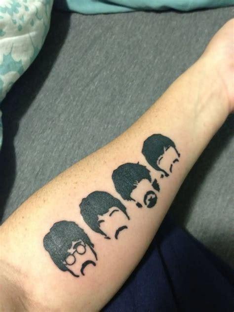 beatles tattoo google search tattoo beatles tattoos