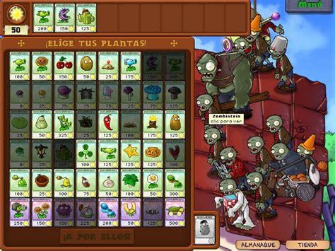 plantas contra zombies juegos taringa