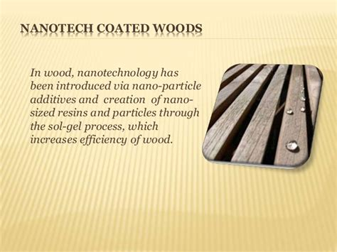 nanotechnology  civil engineering
