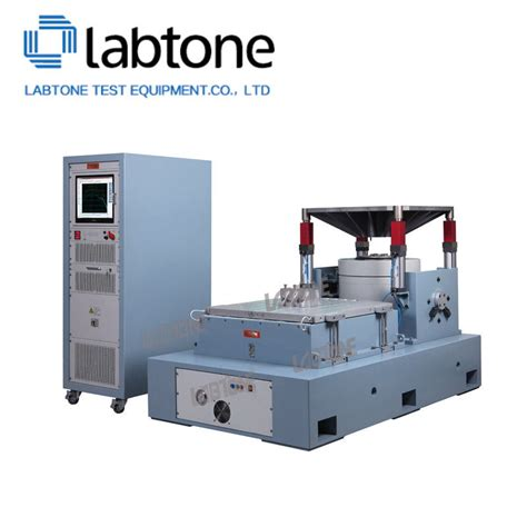 3 axis vibration table 3 axis large force vibration test system with standard of
