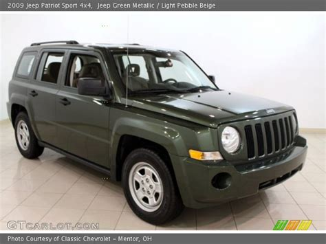 dark green jeep patriot jeep green metallic 2009 jeep patriot sport 4x4 light