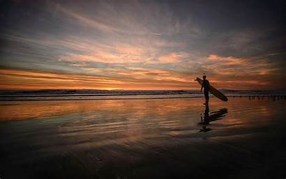 Surfing Sunset Wallpapers Surfers Screensavers Backgrounds Background