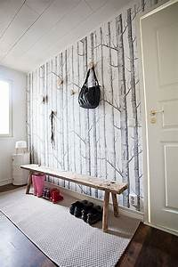 Papier Peint Arbre Noir Et Blanc : les 25 meilleures id es de la cat gorie papier peint bouleau sur pinterest tapisserie d 39 arbre ~ Nature-et-papiers.com Idées de Décoration