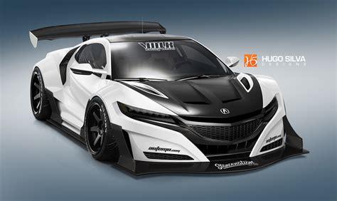 2018 Honda Nsx By Hugosilva On Deviantart