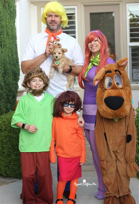 Scooby Doo Romper Costume scooby doo family costume repeat crafter me