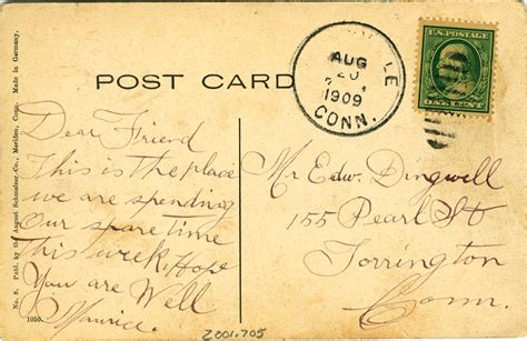 Writing A Paper About Americans by Postcards American Writing Paper Co Mill Manchester