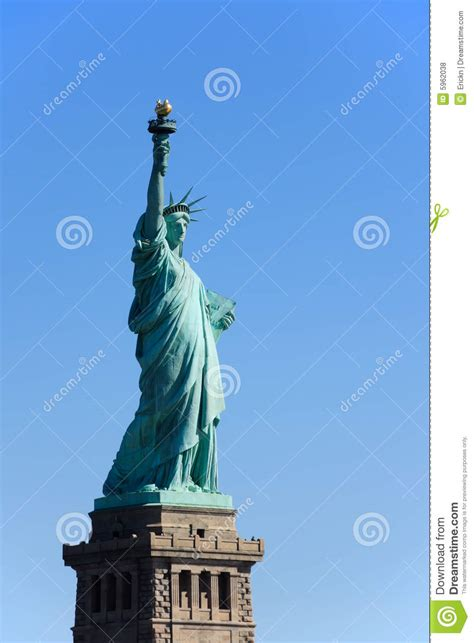 statue of liberty pedestal statue of liberty on pedestal stock photo image of