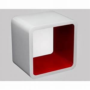 Cube Etagere Bois : etagere murale cube pas cher ~ Teatrodelosmanantiales.com Idées de Décoration