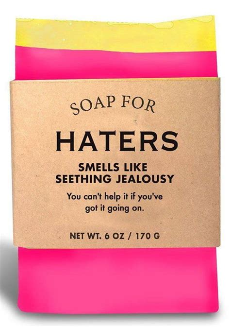 wash    haters funny soap funny soap
