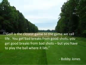 Motivational Quotes About Golf