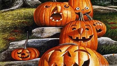 Halloween Funny Backgrounds Desktop Wallpapers Pumpkin Fun