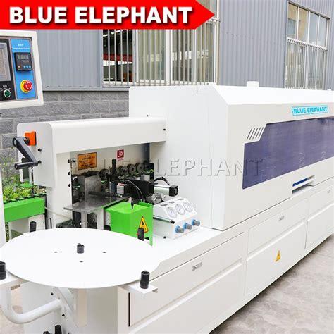 popular double repair edge banding machine  furniture blue elephant cnc machinery