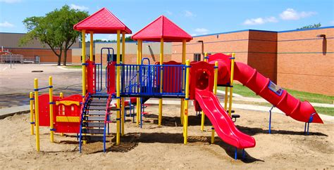 Harvey Dunn Elementary School Playground in Sioux Falls, SD