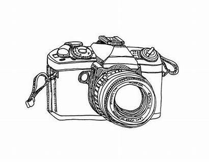 Camera Drawing Dessin Appareil Drawings Cameras Polaroid