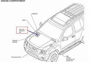 In My 2010 Xterra  The Dashboard Power Supply Does Not Work  But The Console Supply Does  In The