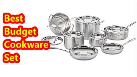 cookware stainless steel cuisinart multiclad budget pots