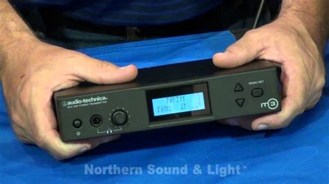 northern sound and light audio technica m3 wireless in ear monitor system