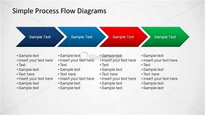 Simple Chevron Diagram For Process Flow Slides