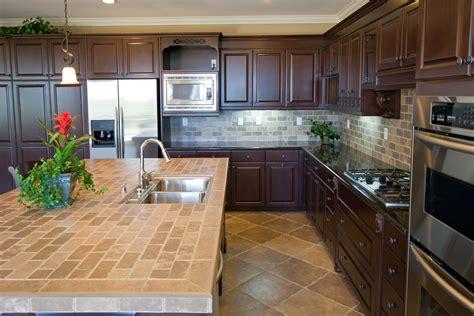 tile kitchen countertops ideas kitchen countertops with ceramic tile ideas kitchentoday