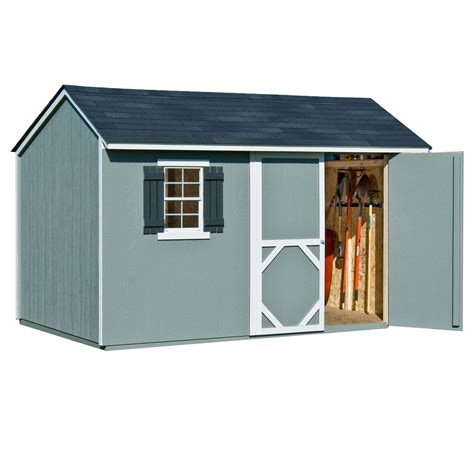 Heartland Stratford Storage Shed by Stratford 12ft X 8ft Heartland Industries