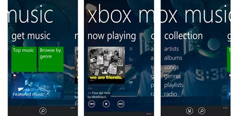 Xbox Music Picks An Update On Windows Phone