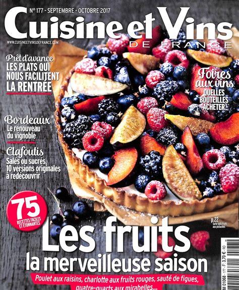 abonnement cuisine et vins de abonnement cuisine et vins de abonnement magazine