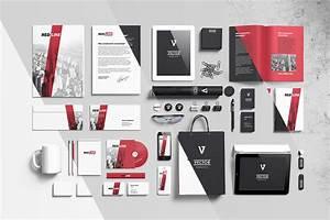 branding, elements, mock