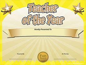 funny award ideas  teacher   year award