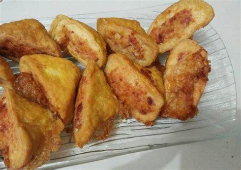 Resep roti panggang telur dan kornet, bikinnya enggak pakai oven. Tahu Isi Daging Kornet / Kornet merupakan makanan olahan daging sapi. - Coser Wallpaper