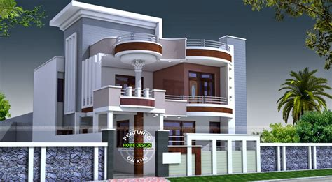 House Front Elevation Designs For Single Floor North