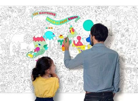 wall  wall coloring books coloring roll