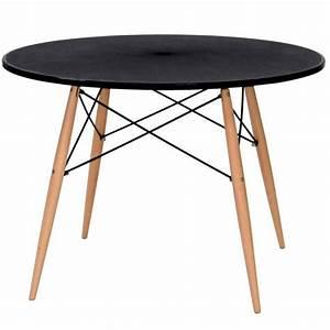 Table Ronde Bois Metal : table ronde comparez les prix pour professionnels sur page 1 ~ Teatrodelosmanantiales.com Idées de Décoration