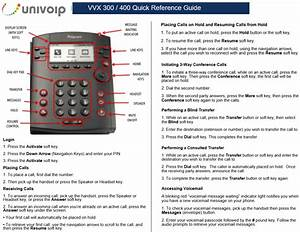 Polycom Vvx 300 Conference Call Instructions