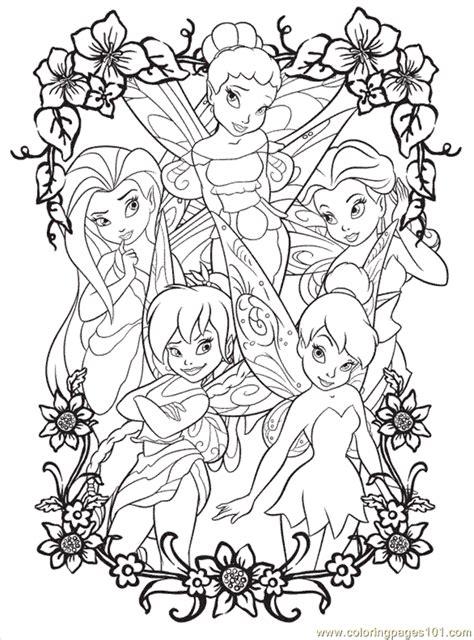 Coloring Pages Disney Fairy5 (Cartoons > Disney Fairies