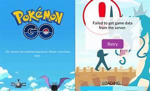 pokemon go roll halted server issues