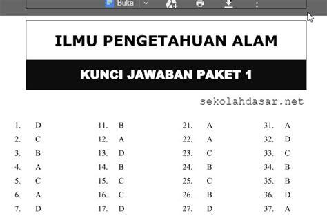 Soal uas bahasa indonesia sma/smk dan kunci jawaban. SOAL-SOAL PREDIKSI LATIHAN UJIAN NASIONAL (UN) SD/MI ...