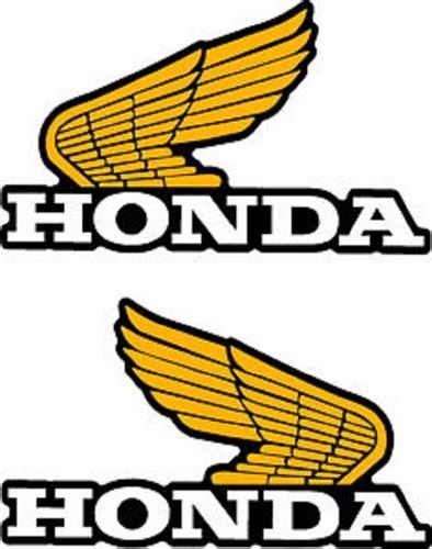 vintage honda logo 1982 honda xl250r tank wings decals