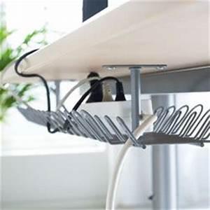Rangement Cable Bureau : 53 best design wire management images on pinterest ~ Premium-room.com Idées de Décoration