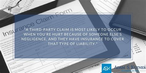 If they are, we can file a lawsuit to get you the money you. First-Party vs. Third-Party Personal Injury Insurance Claims | Adam S. Kutner, Injury Attorneys
