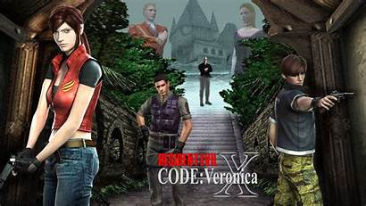 Veronica Resident Evil Code Playstation Coming Central