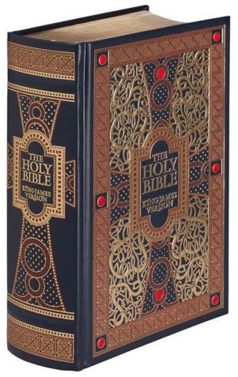 holy bible kjv leather bound  gold leaf edges