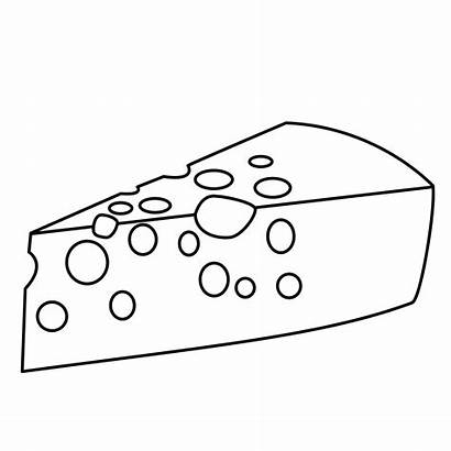 Cheese Coloring Pages Drink Crackers Template Eat