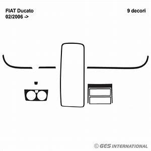 Cru103 Mascherine Sagomate Rivestimento Cruscotto Fiat