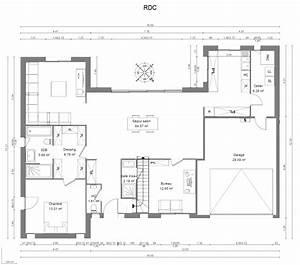 constructeur maison d39architecte maisons heraud With superb plan de grande maison 4 plan de maison archives architecture f g concepts