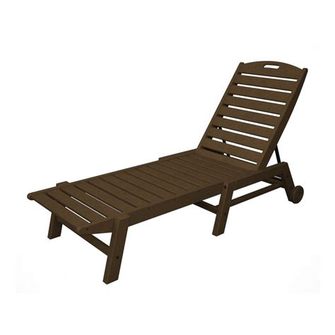 chaise en polypropylène shop polywood nautical stackable plastic chaise lounge