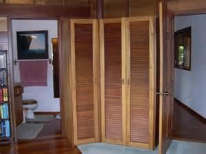Trifold Closet Doors  Tri Fold Door Closet Turned Into